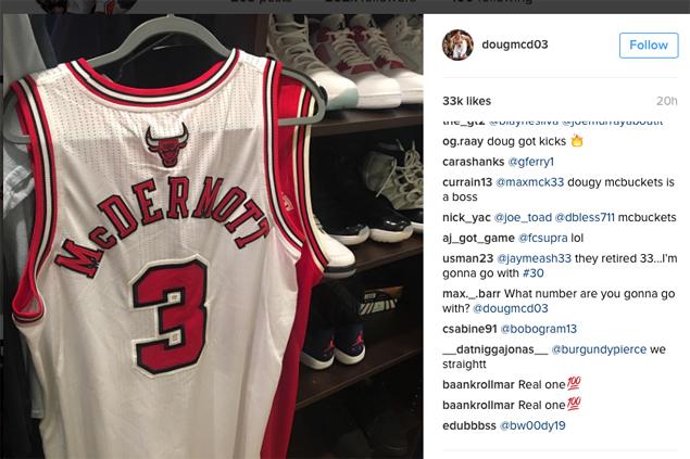 Bulls forward Doug McDermott offers no.3 jersey in respect to new teammate Dwyane Wade
