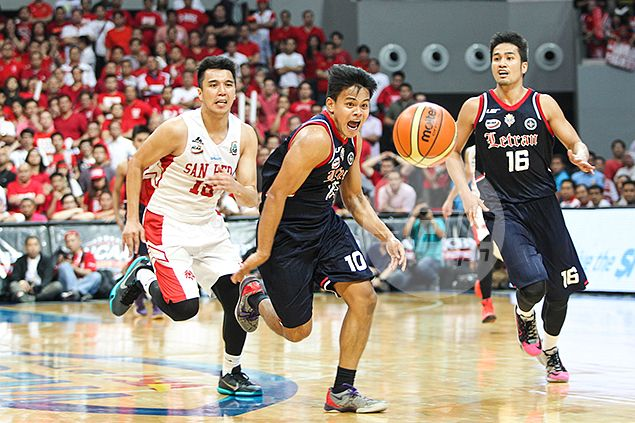 After costly blunder, brave Knight McJour Luib not about to let Letran down in overtime