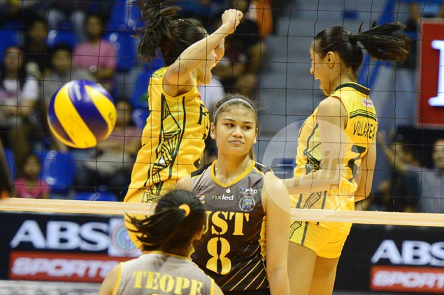 Mela Tunay stays positive that UST Tigresses can still make Final Four despite heavy odds