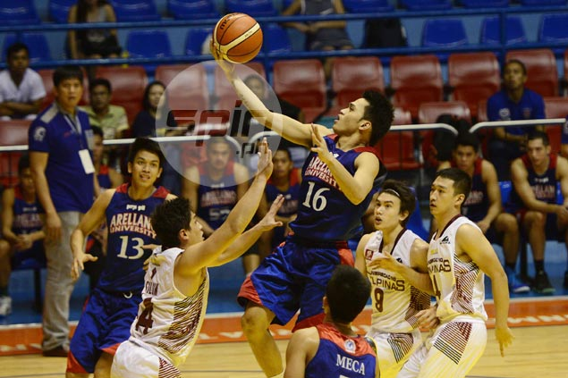 Arellano banks on balanced attack to score wire-to-wire win over UP in Filoil Cup