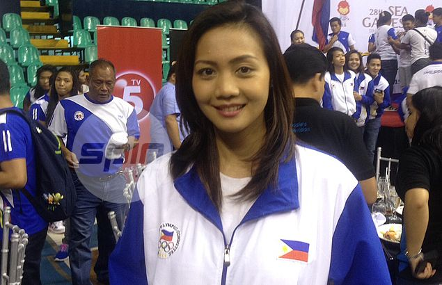 Former Lady Spiker Michelle Datuin seeing action in SEA Games, but not in volleyball