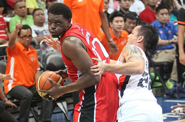 Michael Dunigan vows no more sushi as he rejoins Ginebra after bout with food poisoning