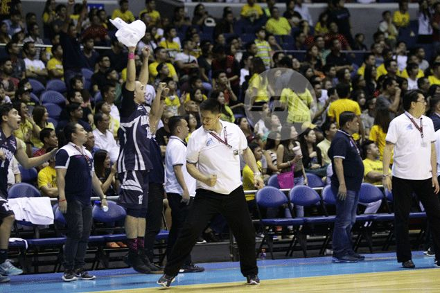 Coach Mike Fermin says Falcons out to end campaign on winning note to earn UAAP respect