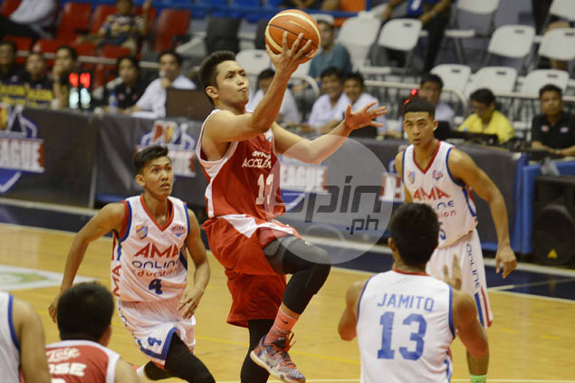 Mike Tolomia triple double helps rise of Phoenix from 22-points down against AMA