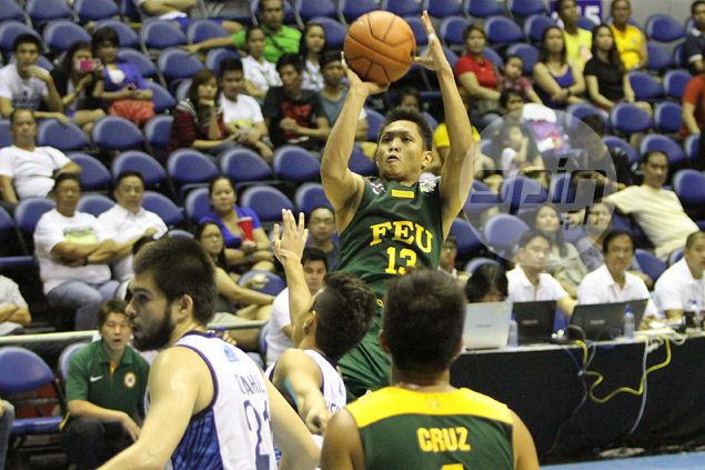 FEU Tamaraws hold off brave stand by Adamson Falcons for fifth win of UAAP season