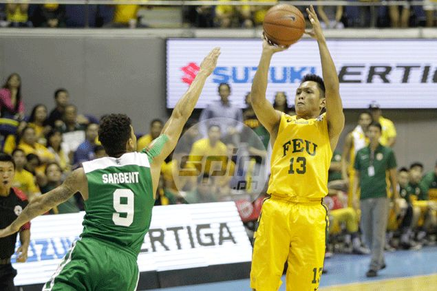 For a change, FEU relies not on individual skills but on team play to achieve success