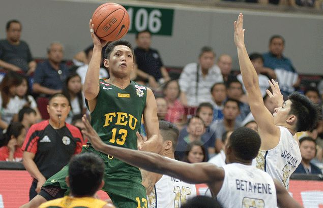 FEU Tamaraws a win away from UAAP championship after holding off NU Bulldogs