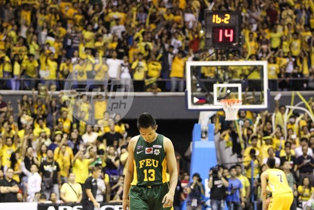 FEU coach Racela says Mike Tolomia's horror 0-of-15 performance 'not a concern'