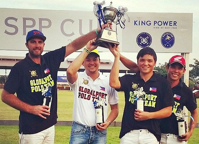 Mikee Romero-led PH GlobalPort team stamps class in SPP Polo Cup in Bangkok