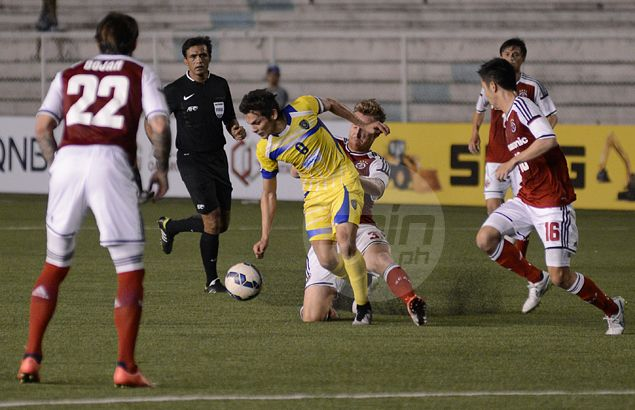 Rude awakening as Global FC dealt a hammering by six-goal South China in horror AFC Cup debut