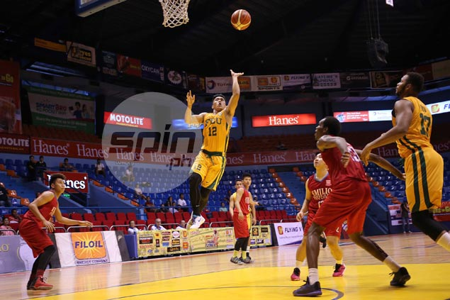 FEU Tamaraws shackle EAC Generals' guns to clinch quarters berth in Filoil Cup
