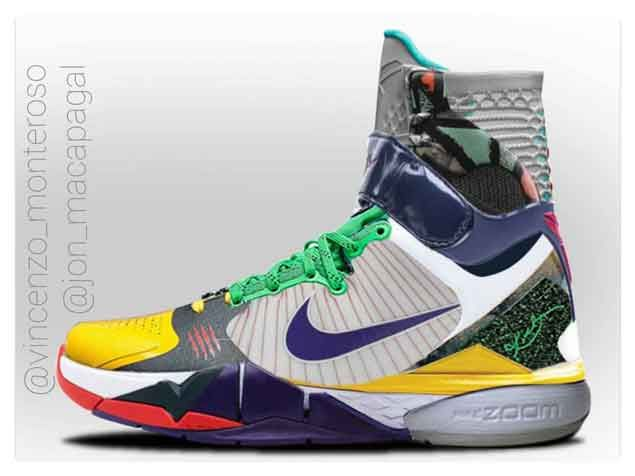 Pinoy fan takes Kobe Bryant tribute shoe a step further. Here's how it will  really