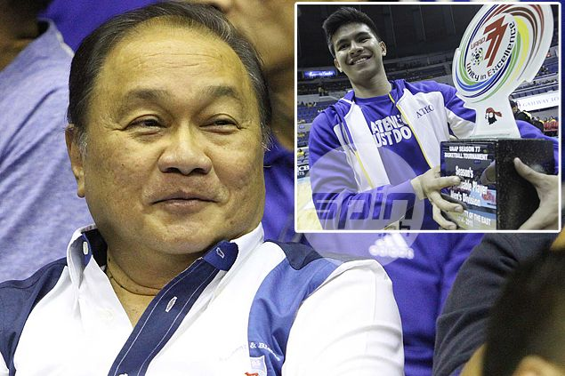MVP prefers Ravena to stay at Ateneo, even if it will mean missing out on him in PBA draft