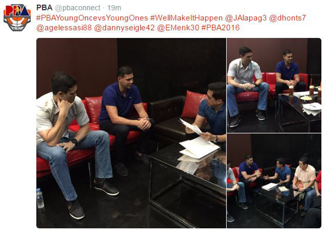 'Young Once vs Young Ones' match closer to reality as Menk, Seigle meet with Narvasa