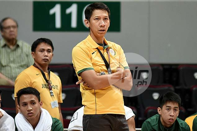 FEU coach Racela plays down notion UST Tigers-Tamaraws match a preview of finals