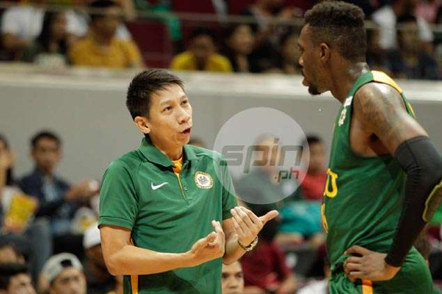 FEU coach Nash Racela wary of NU 'inside-outside' pair of Alfred Aroga and Gelo Alolino
