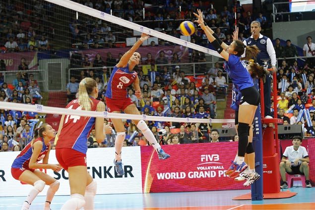 Russia survives gritty host Thailand to seal FIVB World Grand Prix semis battle with USA
