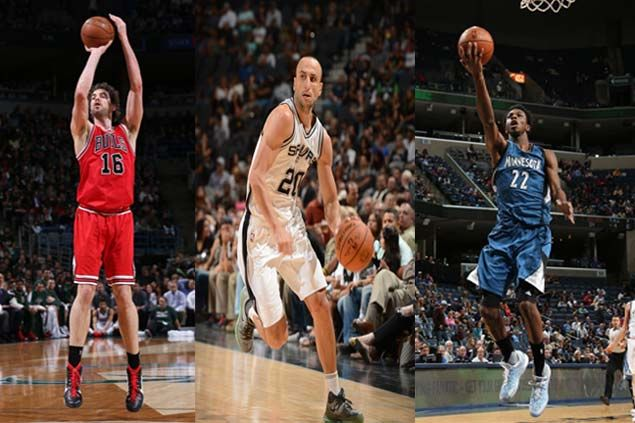 NBA opening-night rosters feature 100 international players. See complete list