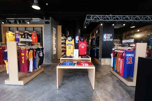 Third NBA Store opens in Trinoma as league expands presence in hoops-crazy country
