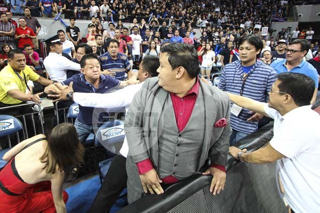 Rival fans nearly come to blows as emotions run high in Letran-San Beda finale