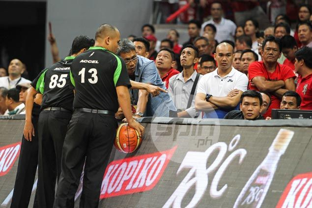 Were referees right to call double lane violation? Guevarra, Cristobal give take