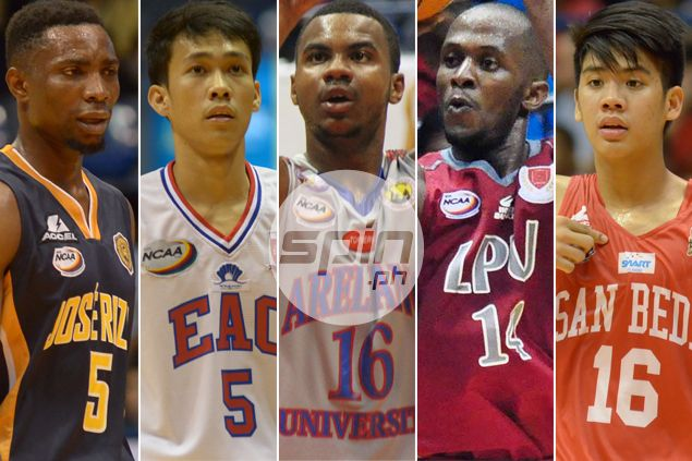 NCAA rookies to watch: Gabayni, Holts, Tongco, Yong make quite a first impression
