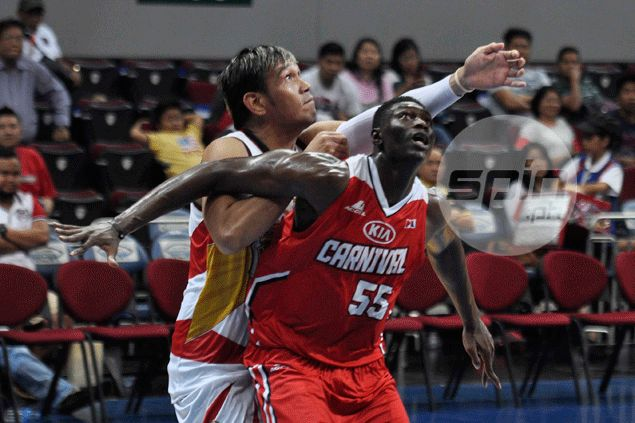 KIA cheers up playing coach Pacquiao with another upset win over San Miguel