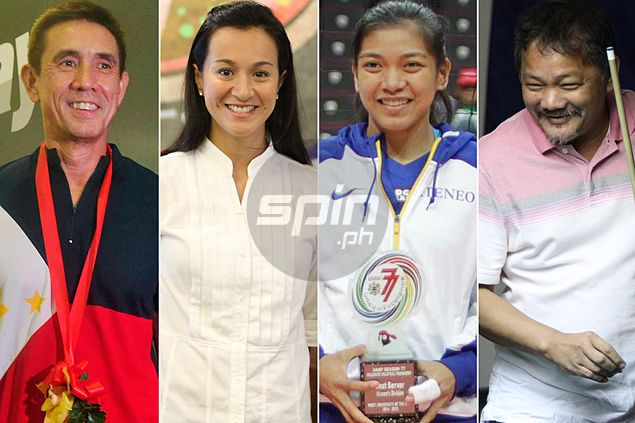 Alyssa Valdez in great company. Meet previous flag bearers for Team Philippines