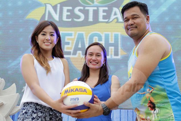 Cyd Demecillo takes Galang place, joins Fajardo in La Salle's Nestea Beach volley title defense