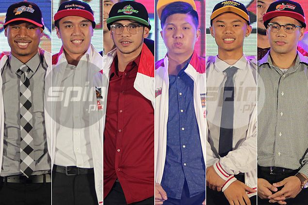 Talk 'N Text, Meralco, Blackwater head PBA draft winners. Find out who the losers are