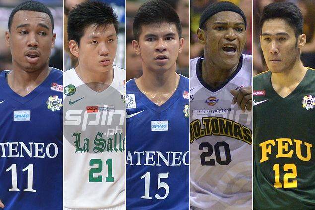 Red-hot Ateneo star Kiefer Ravena posts wide margin in UAAP's MVP race. See the Top 10