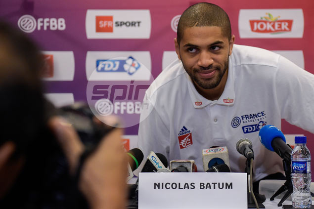 Nicolas Batum insists he's in game shape ahead of debut for France in Manila OQT