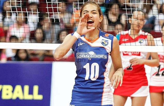 Petron coach Pascua left impressed by fearless Foton rookie Nicole Tiamzon