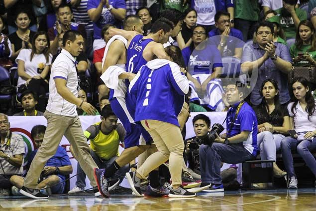 Matt Nieto strains right hamstring, but good to go for Ateneo's final eliminations game
