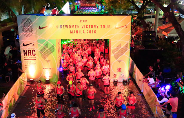 Thousands of Pinays conquer 2016 NRC Women's Half Marathon from Manila to Cavite