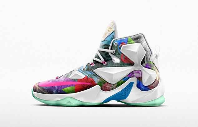 Nike marks Lebron James 25,000-point milestone with unique shoes