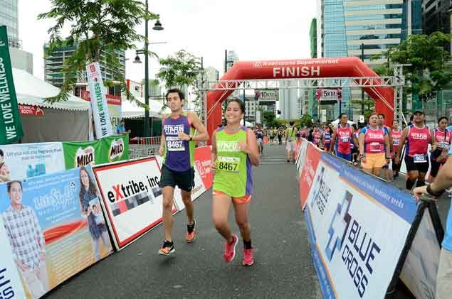 Buddy system proves a hit among participants in Robinsons Fit & Run Wellness race