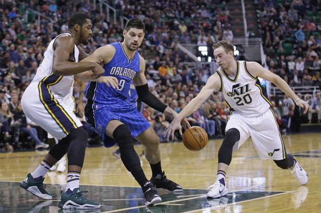 Tobias Harris shows way as Orlando Magic beat Jazz for fifth successive victory