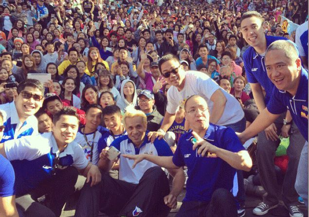 Asi Taulava, NLEX teammates turn on the charm in Panagbenga Festival in Baguio City