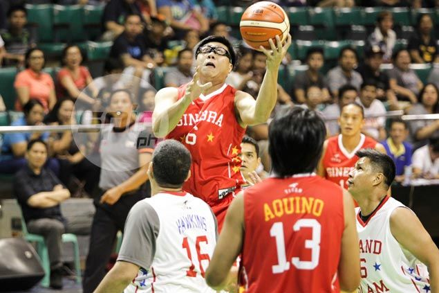 Caidic, Ginebra get win as PBA players past and present play for a worthy cause