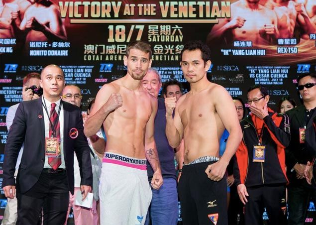 Nonito Donaire not worried that Macau fight vs Settoul will leave him out of radar of US fans