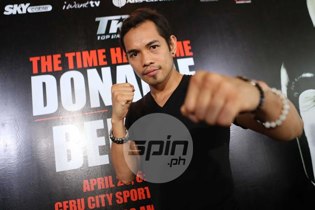 Nonito Donaire can't hide excitement over his first title defense on home soil