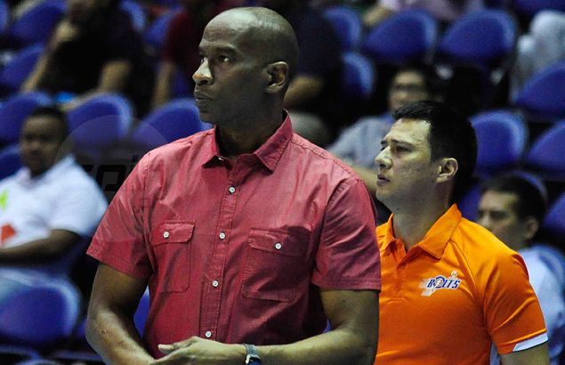 Meralco coach Norman Black, Bolts not about to take expansion team Blackwater for granted