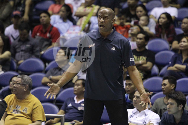 Back-to-back losses show Meralco still a work in progress, says Norman Black