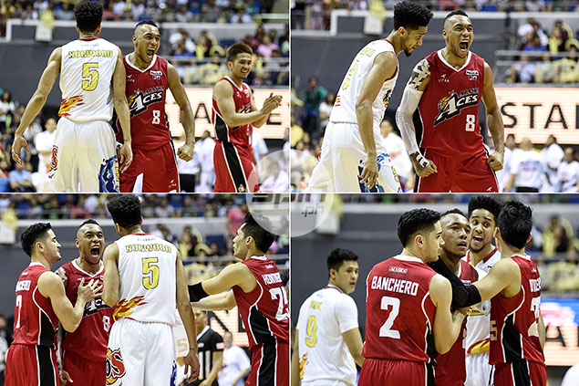 Gabe Norwood on incident with Calvin Abueva: 'I told him the series is not yet over'