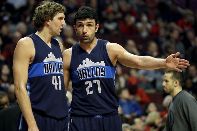 Mavs center Zaza Pachulia leapfrogs Draymond Green in All-Star voting, ends up 14K votes shy of starting spot