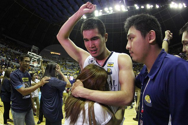 Fitting end to NU Bulldogs career in UAAP an answered prayer for Rosario