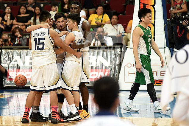 JJay Alejandro couldn't have picked a better time to step up for NU Bulldogs