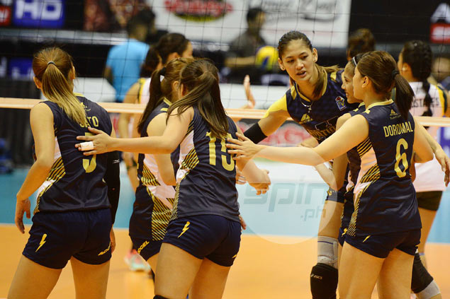 NU inches closer to V-League semis with dominant win over Baguio