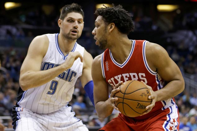 Sixers nab sixth win as Jahlil Okafor leads Philadelphia in dealing Orlando its fourth straight loss